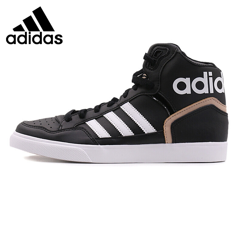 Original Authentic Adidas Originals EXTABALL W Women's Skateboarding Shoes Sneakers High Top Flat thread AC8587 Sports outdoor