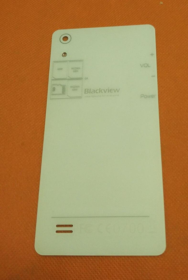 Utilisé D'origine En Verre Trempé De Protection Couverture de Caisse de Batterie Pour Blackview Omega Pro MTK6753 Octa Core 5.0 HD Livraison Gratuite