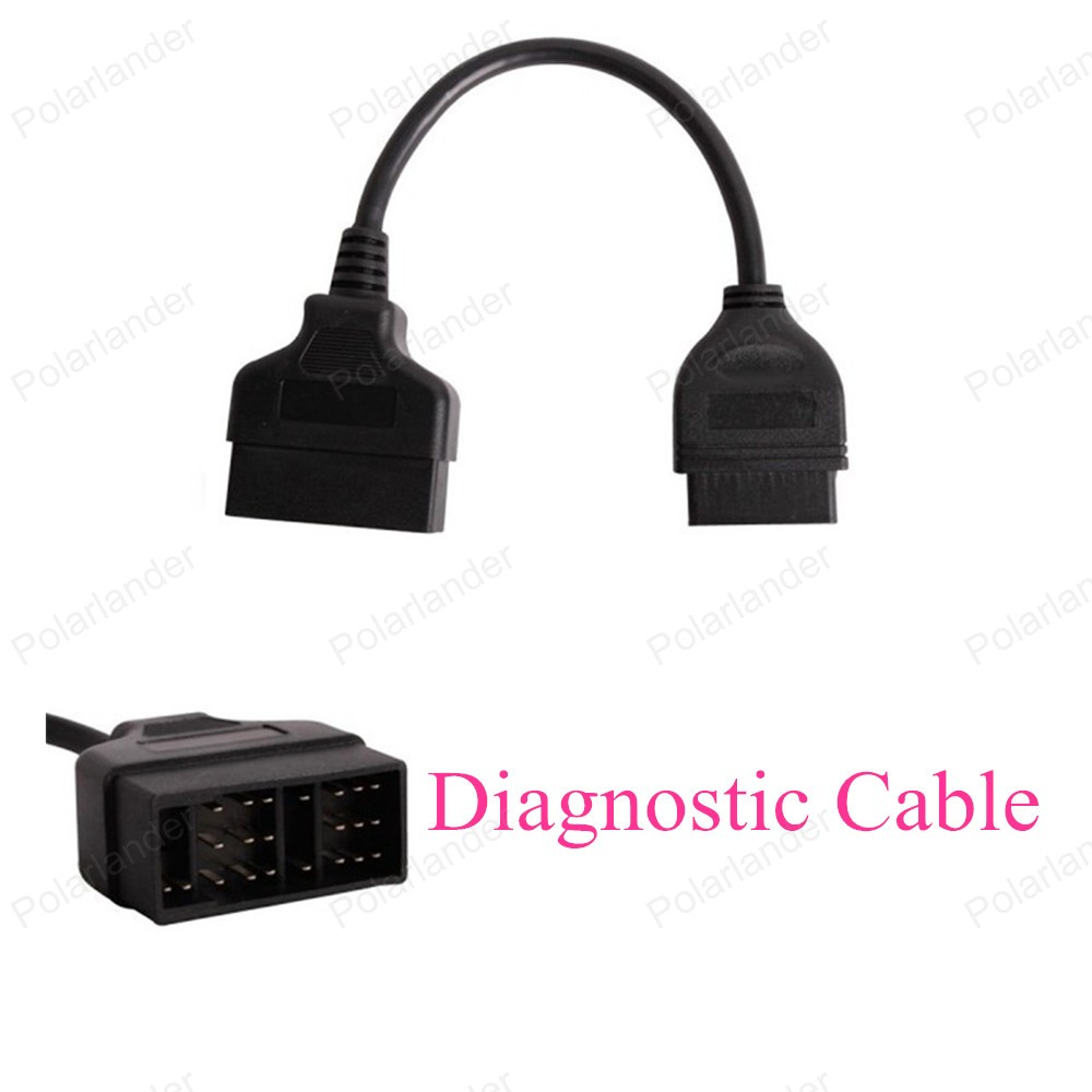 Top Quality OBD2 Interface Adapter for <font><b>Toyota</b></font> Diagnostic Scanner Cable <font><b>22Pin</b></font> to 16Pin Car Diagnostic Cable image