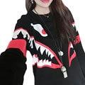 Hot Sale 2016 T-shirt Mulheres Outono Inverno Engrosse Longo Bat manga comprida Feminina Encabeça Harajuku Kpop Roupas BF Solto Sexy Top preto