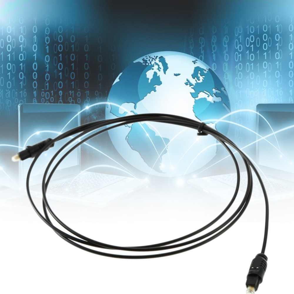 1,5 м Универсальный цифровой оптический звуковой оптоволоконный кабель Toslink подключите кабель для PS2 PS3 ТВ HDVD