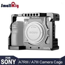 SmallRig DSLR A73 Cage A7R3 Camera Cage for Sony A7R III / A7M3/ A7 III With Arri Locating Hole 4/1 8/3 Threads hole 2087 цена