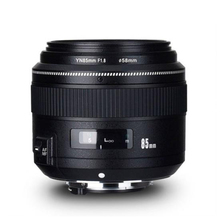цена на YONGNUO YN85mm F1.8 Full frame Lens Standard Medium Telephoto Prime fixed focus lens For Nikon D810/D750/D850/D7100/D7200/D3200