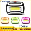 Led Headlamp 700lm COB Linternas Potentes Bicycle Headlight Led Lampada Frontale Head Light Lamp Torch Lanterna Camping Hiking