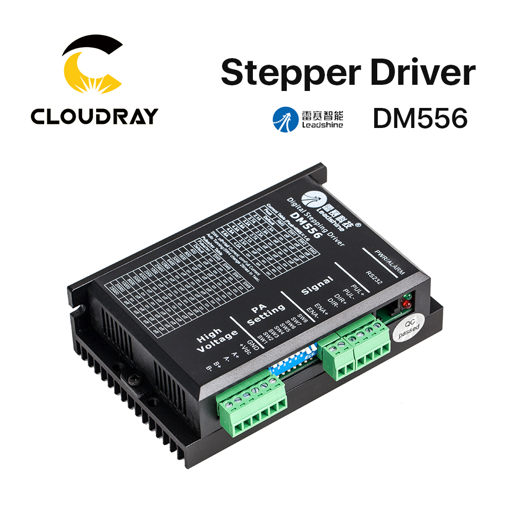 Cloudray Leadshine 2 Phase Stepper Driver DM556 20 50VAC 0.5 5.6A