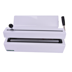Sellador Dental/sellador médico/sellador de bolsas de esterilización ancho de sellado 280mm ancho de plegado 12mm máquina selladora de bolsa de desinfección