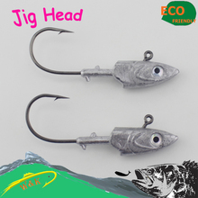 20g, 30g, 40g jig head hook for soft shad lure — strong jig head hook