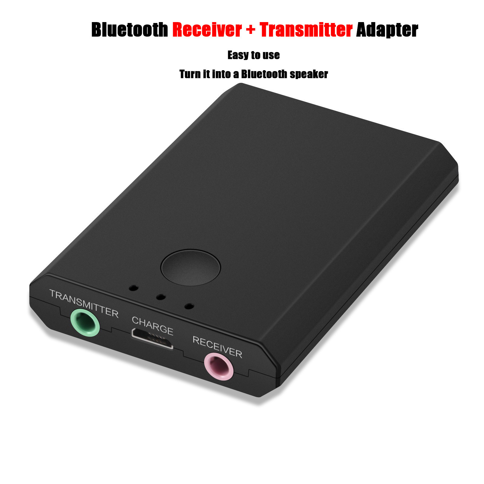 LEORY DC 5V 3.5mm Bluetooth 4.2 Adapter Transmitter Receiver Audio Adapter for TV Headphones Phone A2DP,AVRCP