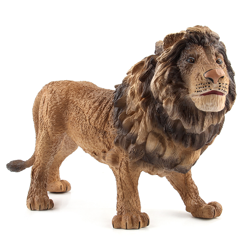 Ornament Miniature Statue Collection Crafts Gifts Animal Resin Sculpture Festival Lion
