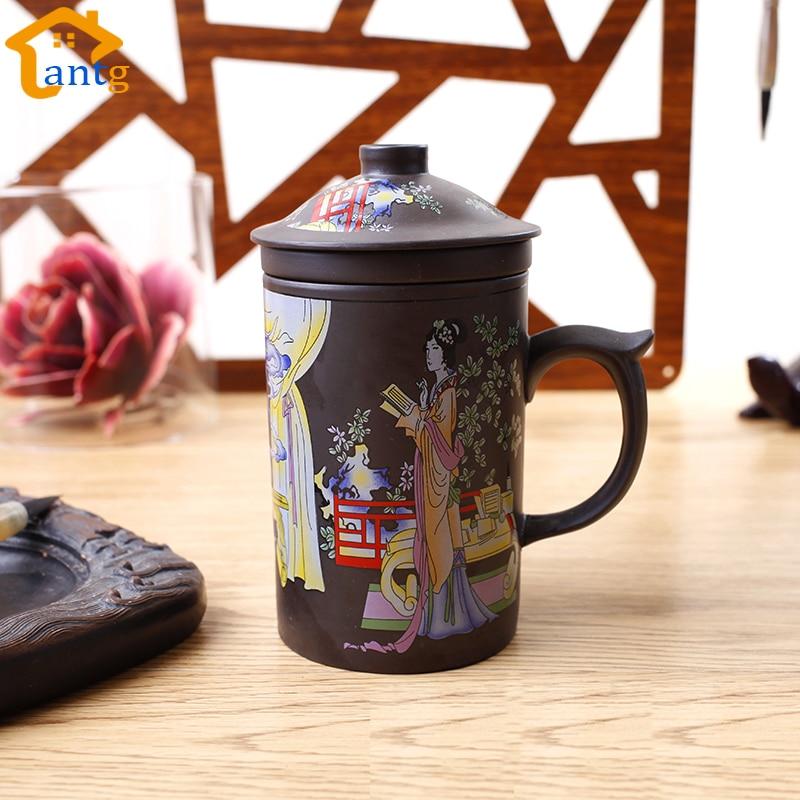 Juego de té 300IX Yixing chino, taza de té de arcilla púrpura, - Cocina, comedor y bar - foto 2