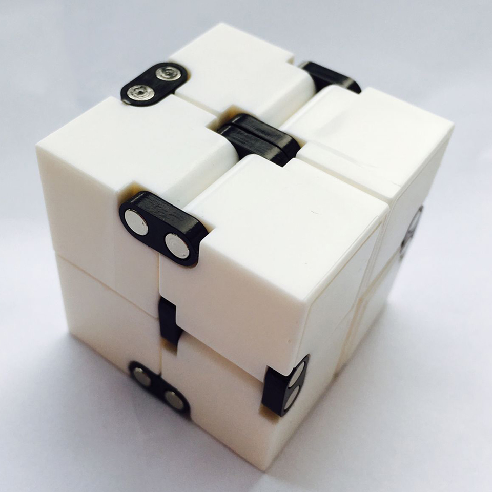 Infinity Cube Magic Cube For Autistic Children Puzzle Game Cube Toy Kids Creative Gifts Anti Stress Finger Flip Toy K2706