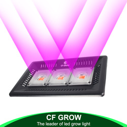 Waterproof IP67 COB Led Grow Light Full Spectrum 100W 200W 300W for Vegetable Flower Indoor Hydroponic Greenhouse Plant Lamp