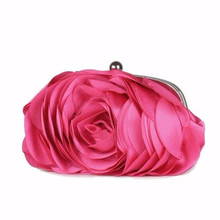 Women Luxury 3D Flower Evening Bag (10 colors)
