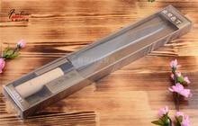 10-zoll edelstahl küchenmesser lachs sashimi raw fischfilet kochmesser kochen messer Tänzelte geschenk Freies verschiffen