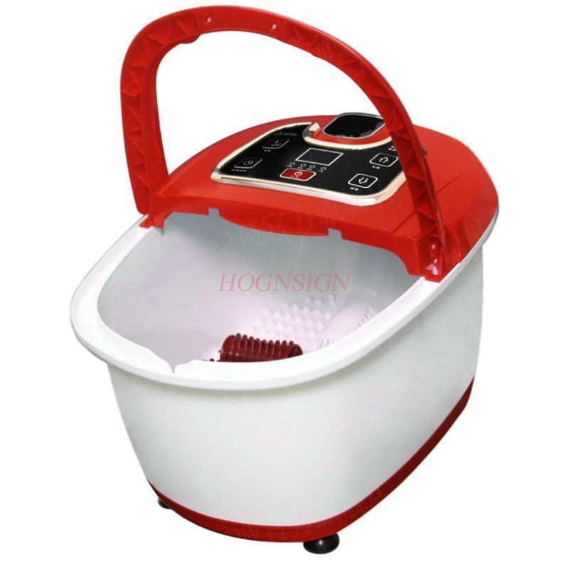Feet Bath Fully Automatic Heating Foaming Basin Self Service Massage Constant Temperature Footbath Electric Deep Barrel Foot fully automatic household foot massage machine golden deep barrel footbath device foot bath electric heating valuable