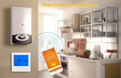 Digital Wifi Thermostat Temperature Controller LCD Display Thermostat Temperature Measuring Tools for Electric Water Heating