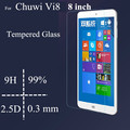 8 polegada VI8 protetor de tela de vidro para Chuwi VI8 vidro temperado tela película protetora