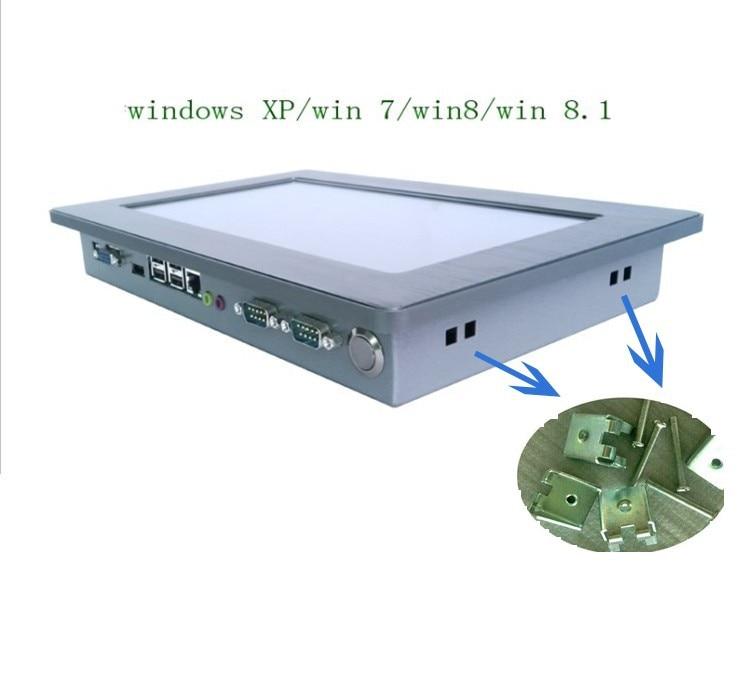 tudo em um PC pc industrial sem ventilador do painel da tela de toque - Computadores industriais e acessórios - Foto 4