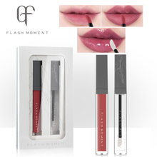FlashMoment Matte Lip Gloss Lipsticks Moisturizing Glaze Set  Waterproof Long Lasting Lipgloss Makeup Lipstick Cosmetics
