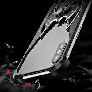 Image 3 - Luxe Originele Metalen Bescherming Shell Case Voor Huawei P20 Case Lite Persoonlijkheid Shell Voor HuaweiP20 Case Metal Bumper Cove