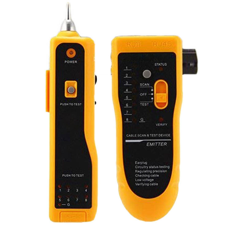 Ethernet Network LAN Telephone Cable Tester Checker For RJ11 RJ45