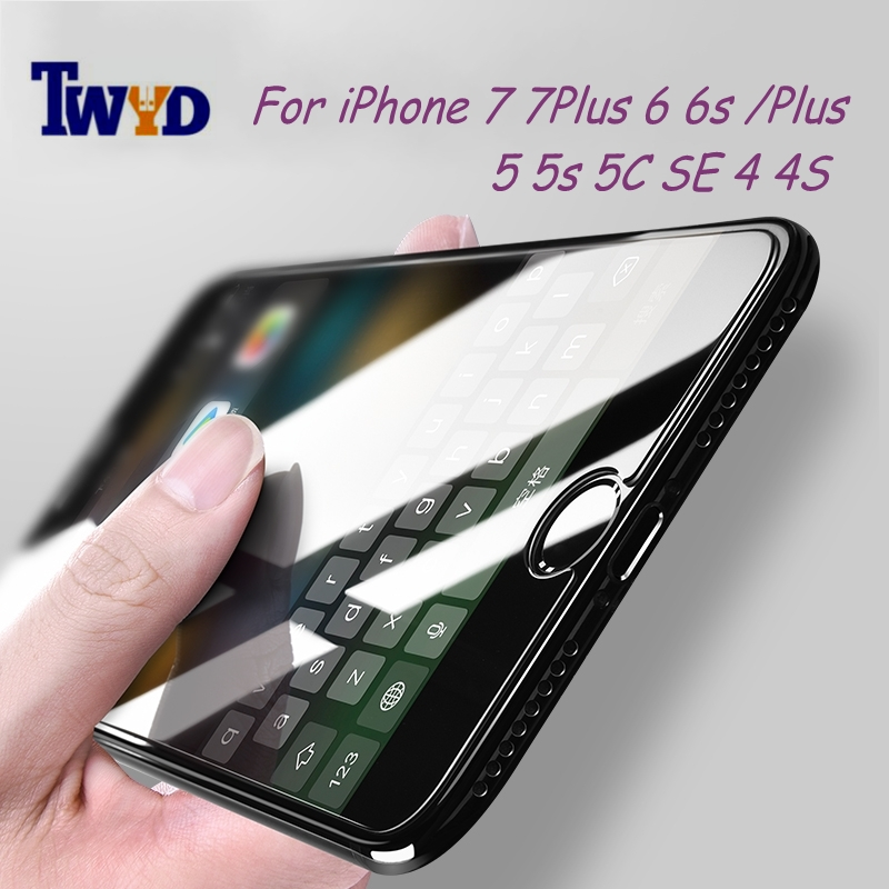 Ochranné sklo na iPhonu 4 5s 6 7 9H 2,5D Ultra tenký Chránič - Příslušenství a náhradní díly pro mobilní telefony
