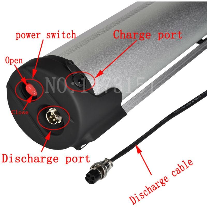 36v 15ah elektrische Fahrradbatterie 36V 500W Wasserflaschenbatterie - Radfahren - Foto 4