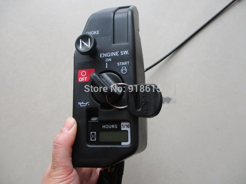 GX630 GX690 CONTROL BOX STARTER BOX SWITCH KEY ASSEMBLY FIT HONDA GX630 GX690 gasoline enigne parts