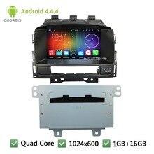 Quad Core Android 4.4.4 1024*600 WI-FI FM Dvd-плеер Автомобиля Радио Аудио Стерео Для Opel Astra J/Vauxhall Astra/Buick Verano