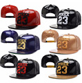 PYREX 23 Snapback Caps Patent Leather Alphanumeric hip hop Strapback Hats 061c