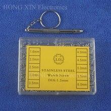 500 pçs universal assorted minúsculos parafusos de precisão para relógio óculos telefone tablet reparação ferramenta conjunto kit com chave fenda