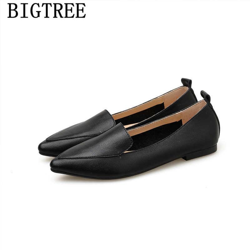 Delle donne scarpe casual morbido delle signore piatto scarpe donna mocassini scarpe harajuku creepers scarpe di lusso delle donne designer slip on ayakkabi