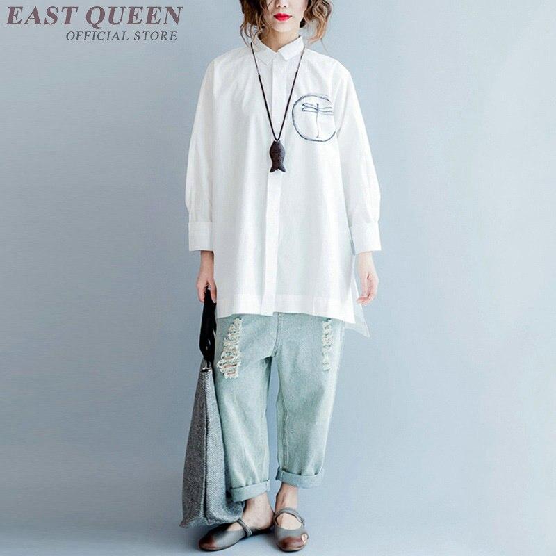 Blouses Kimono Vêtements Japonais Tops Femmes Chemise Femme Aa4134 Et Femelle 1 Ladied Tendances Pour De 2018 Style AxARrw6