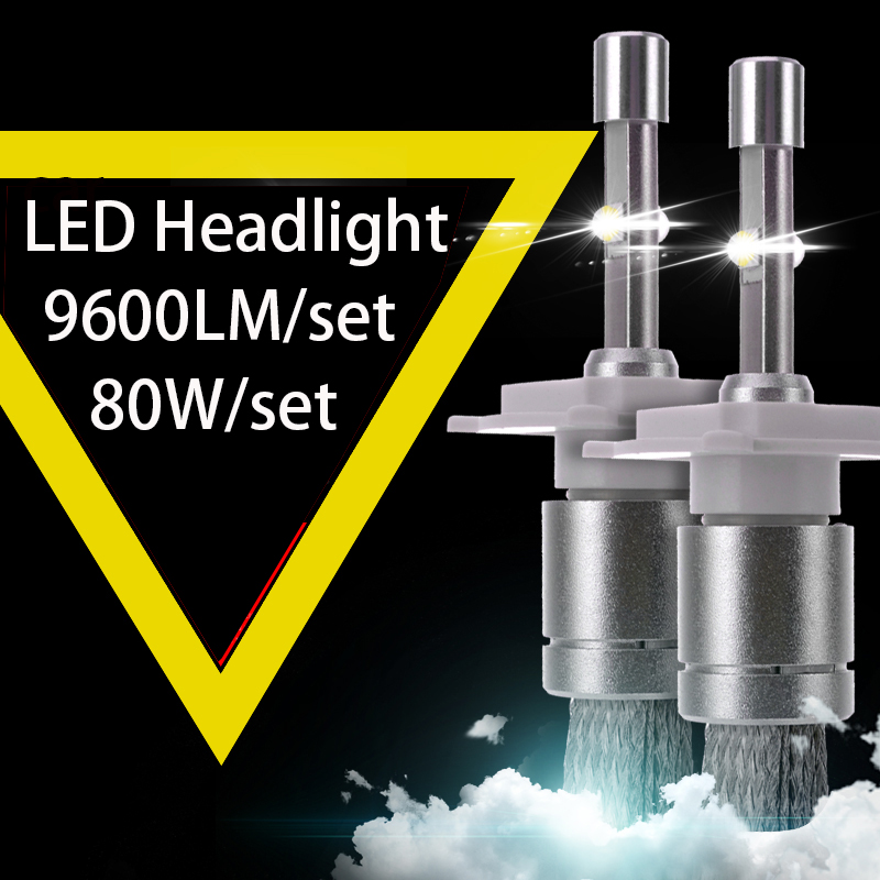 Super Bright R3 9600lm XHP-50 cree chip Car LED Headlight Kit H1 H3 H4 H7 H9 H11 9004 HB1 9005 HB3 9006 HB4 9007 pair 9600lm w cree cob chips h1 h3 h4 h7 h8 h9 h11 880 881 9005 9006 9012 car led headlight kit bulbs 6000k white