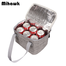 Mihawk Solid Thermal Insulated Cooler font b Bags b font Extra Large Picnic font b Lunch