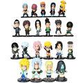 21 pçs/lote Novo NARUTO Figuras Anime Naruto Kakashi Sasuke Sakura PVC Estatueta Modelo Toy Action Figure Para Crianças Bonecos Colecionáveis