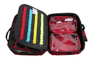 Image 5 - Große Kapazität Wasserdichte Emergency First Aid Kit Leere Tasche Überleben Kits Medizinische Rettungs Reise Trocken Taschen Outdoor Camping
