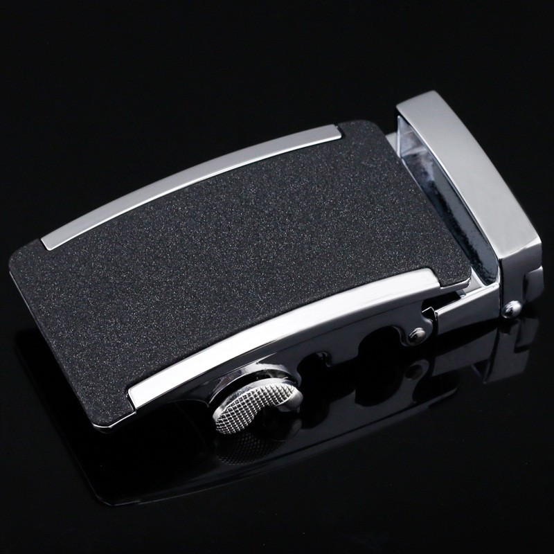 Men's Belt Head Belt Buckle Leisure Belt Head Business Accessories Automatic Buckle Width 3.5CM Men High Quality LY125-0841