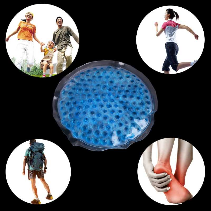 DUAI Reusable Hot or Cold Therapy Heat Ice Gel Pack First Aid Sports Pain Relief Soft Massager Health Care Random Color