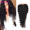 Malaysian Deep Wave With Closure Curly Malaysian Virgin Hair With Closure Curly Weave Human Hair With Closure Unprocessed Hair