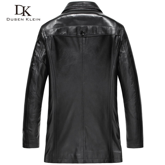 Dusen Klein Genuine leather Designer coat