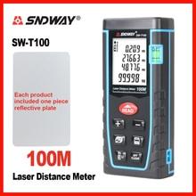 Лазер sndway измеритель расстояния дальномер 40 м 60 м 80 м 100 м электронная лента Trena линейка тестер Ручной инструмент устройство сборки
