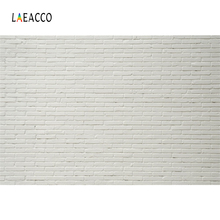 Laeacco White Brick Wall Portrait Grunge Wedding Photography Backgrounds Customized  Photographic Backdrops For Photo Studio