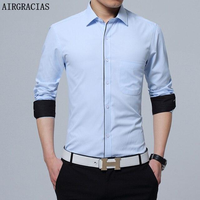 Hommes Vêtements Chemise Automne À Masculin Airgracias Camisa HwPtxWWB