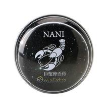 1 Pc da Constelação do Cancro Perfumes Sólidos Mágicos Perfume Fragrância Desodorante