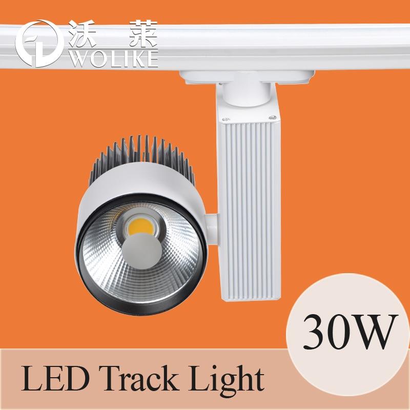 30W COB LED Track Lamp 85-265V High Brightness Tracking Light Cloth Store Spotlights - Shenzhen Suny Lighting Co., Ltd. store