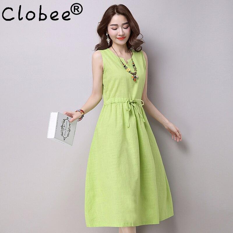 Online Get Cheap Linen Dresses Women -Aliexpress.com | Alibaba Group