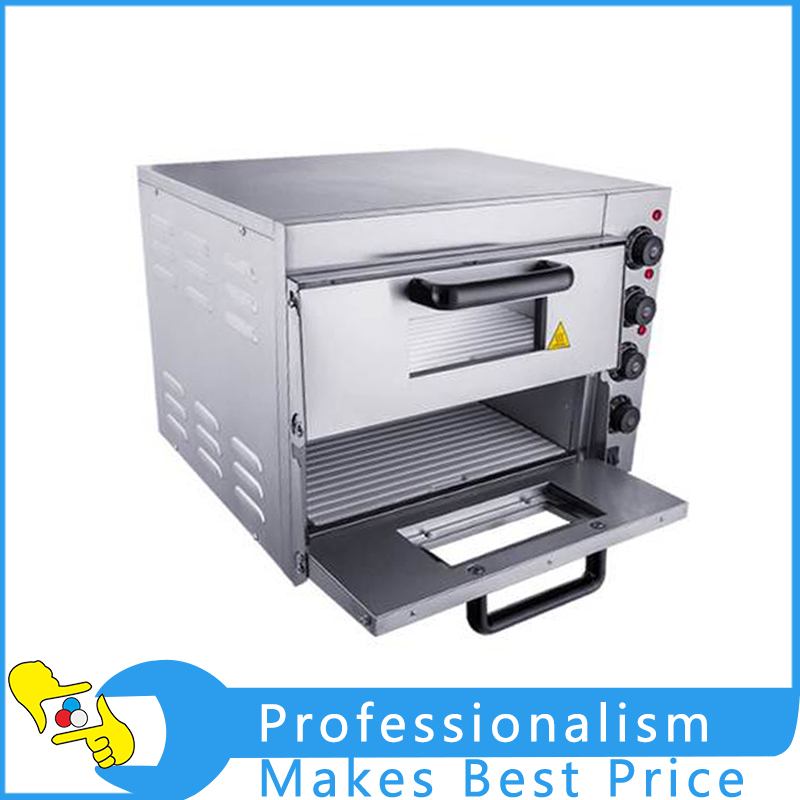 Commercial Double Electric Pizza Oven Pizza Bread Making Machine 220V 3KW new arrival double layer large electric oven po2pt commercial oven cake bread pizza oven large electric oven 220v 3000w 0 120min