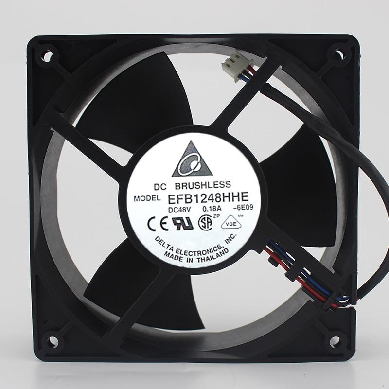 Оригинальный EFB1248HHE 48 В 0.18A 12 см 12038 инвертор промышленный компьютер вентилятор