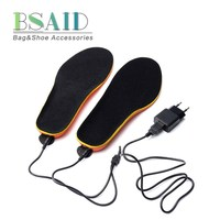 BSAID Electric Heated Insole, Adjustable Remote Control USB Charge Winter Shoes Boots Pads, Quick Heating Keep Warm Shoe Insoles